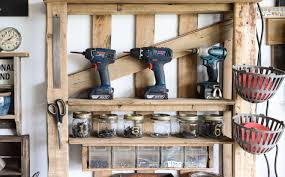 motorcycle home decor shelving pallet home decor awesome pallet rack shelving easy diy