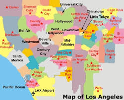 map usa states los angeles judgemental map of los angeles los angeles easy map with 400 x 324