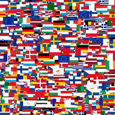 European Countries Flag Collage Of Flags Of The European Countries Stock Photo Picture