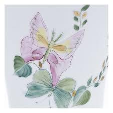 porcelaine peinte main vase peint main papill u0027or vase en porcelaine laure sélignac