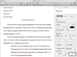 how to write a mla format paper how to create an mla template in word and pages
