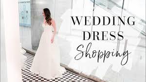 wedding dress shopping come wedding dress shopping with me bridetobe vlog