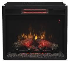 23 Inch Electric Fireplace Insert by 23 74 U0027 U0027 Classic Flame Fixed Glass Spectrafire Infrared Quartz