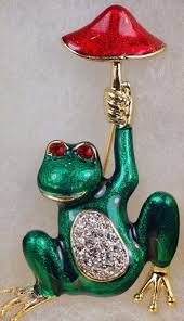 141 best brooches of frogs images on pinterest frogs vintage