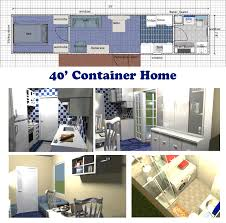 Efficient House Plans A Very Space Efficient Floor Plan For A Container Home Container