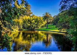 Botanical Gardens Melbourne Beautiful Ornamental Lake Royal Botanic Gardens Melbourne