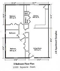 Floor Plans For 2 Bedroom Apartments Two Bedroom House Plans Fallacio Us Fallacio Us