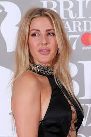 ellie goulding leads glamour at brit awards 2017 daily mail online