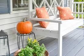 ana white large porch bench i am a homemaker
