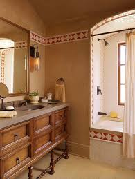 mediterranean style bathrooms inviting hacienda style retreat overlooking the santa lucia preserve