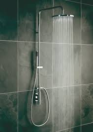 vertix thermostatic showers vado vado s recently introduced vertix collection includes stylish vertical thermostatic shower valves specifically designed to give a sleeker profile than