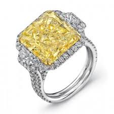 fancy yellow diamond engagement rings fancy engagement rings yellow diamond engagement ring