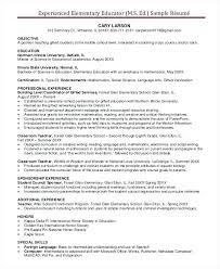 international resume sample sample resume for teaching abroad