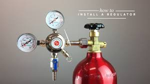 How Much Is A Kegerator How To Set Up A Draft Beer Regulator To A Co2 Tank Youtube