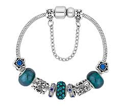 bracelet diamond style images Treasure bracelet in blue diamond style jpg