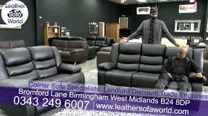 Leather Sofas In Birmingham Leather Sofa World Birmingham
