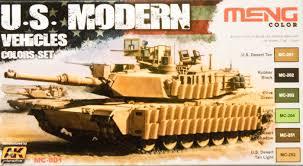 ak interactive ak mc801 us modern vehicles colors paint review
