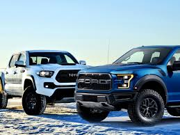 ford raptor vs toyota tundra want this buy this ford f 150 svt raptor vs toyota tacoma trd