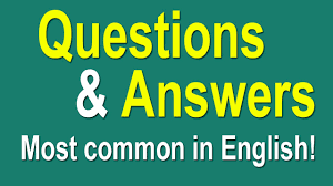 english speaking practice most common questions and answers in