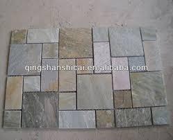 echo outdoor split slate flooring large modular pattern buy