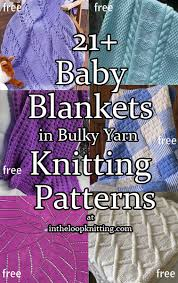 knitting pattern quick baby blanket quick baby blanket knitting patterns in the loop knitting