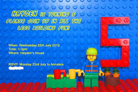 Party Invitations With Rsvp Cards Lego Party Invitations U2013 Frenchkitten Net