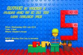 Customized Birthday Invitation Cards Free Lego Birthday Invitation U2013 Frenchkitten Net