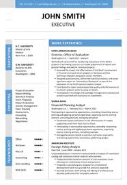 Modern Resume Templates Word 6 Executive Resume Templates Word Website Wordpress Blog