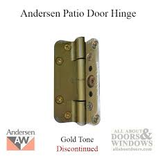 Patio Door Hinges 1989 1991 Patio Door Hinge Gold Tone See Notes
