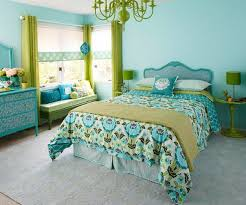 wohnideen schlafzimmer trkis farbideen schlafzimmer einflußreiche farben und dekoration