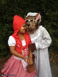 Red Riding Hood Halloween Costumes Red Riding Hood Big Bad Wolf Costume Big Bad Wolf