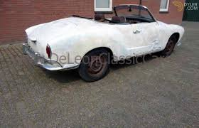 white volkswagen convertible classic 1968 volkswagen karmann ghia cabriolet roadster for sale