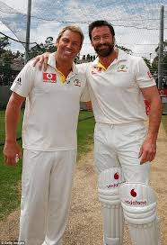 cricket san jose hair show april 2015 shane warne is mocked as scores of fans impersonate him daily