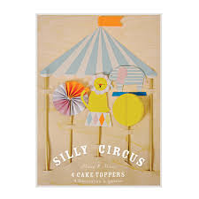 circus cake toppers silly circus cake toppers