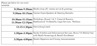 event agenda stand up for woman veterans