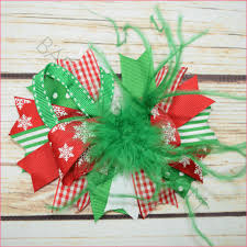 christmas hair bows adorable christmas hair bows for every occasion bargain bows