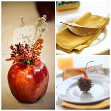 thanksgiving place cards table setting ideas scoutandnimble