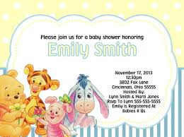 winnie the pooh baby shower ideas winnie the pooh baby shower invitations cloveranddot