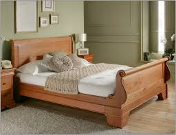 Bed Frame Sale Bedroom Great King Size Sleigh Bed For Main Bedroom Decor