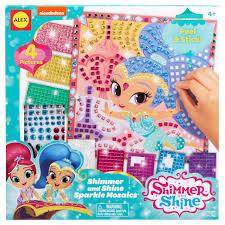 amazon com shimmer and shine sparkle mosaics toys u0026 games