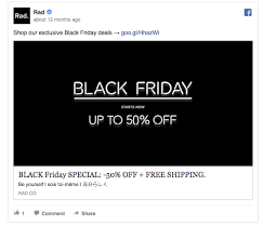 black friday target meme commercial 55 facebook ads that get the holiday advertising right