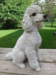 cockapoo puppy figurine statue resin pet 6 h sitting ornament