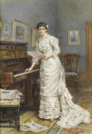 file george goodwin kilburne a young woman at a piano 1880 jpg