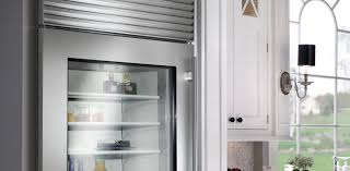 fridge freezer glass door sub zero refrigerator with glass door