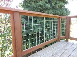 hog fence deck railing ideas u2014 railing stairs and kitchen design