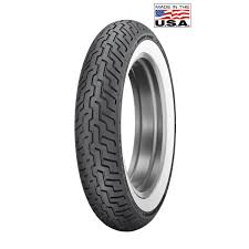 dunlop d402 mt90b16 wide whitewall front tire 214 008 j u0026p cycles
