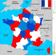 France Maps by France Map Stock Photo Image 10615580