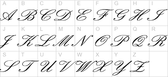 cursive old english tattoo lettering choice image letter