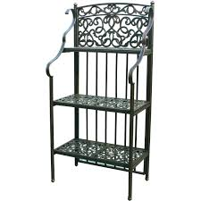 Bakers Rack With Wine Glass Holder Black Corner Bakers Rack Best 50 Black Corner Bakers Rack Foter