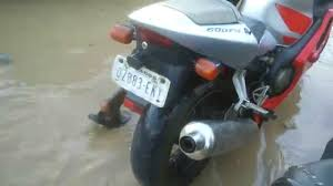 600cc honda 600cc honda cbr dies in african floodwaters youtube